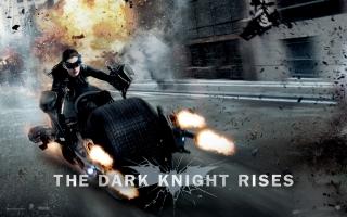 Anne Hathaway in Dark Knight Rises
