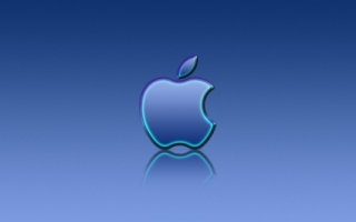 Apple Blue Reflexion Wallpaper Apple Computers