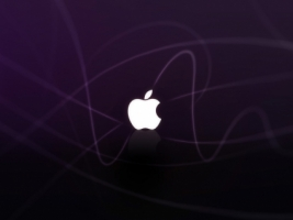 Apple purple Wallpaper Apple Computers