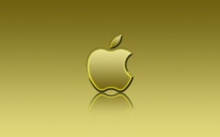Apple Yellow Reflexion Wallpaper Apple Computers