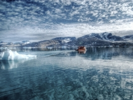 Arctic Sea Wallpaper Greenland World