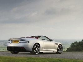 Aston Martin DBS rear Wallpaper Aston Martin Cars