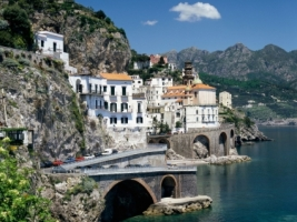Atrani Amalfi Coast Wallpaper Italy World