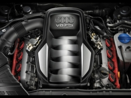 Audi A5 engine Wallpaper Audi Cars