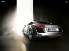 Audi R8 rear Wallpaper Audi Cars
