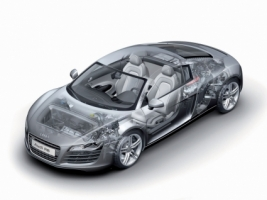 Audi R8 Transparency Wallpaper Audi Cars