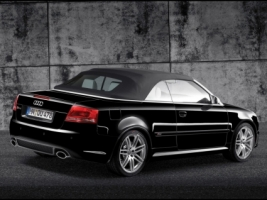 Audi RS4 Cabriolet Black Wallpaper Audi Cars