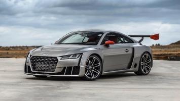 Audi TT Coupe Concept 2015