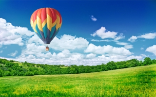 Balloon in Sky