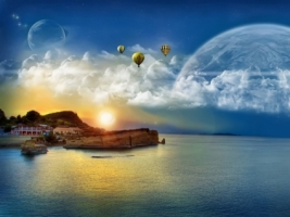 Balloon Ride Wallpaper Miscellaneous Other