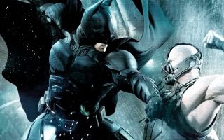 Batman Bane Fight