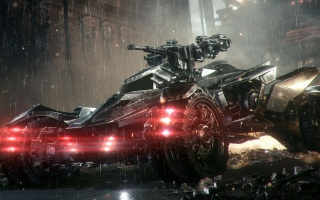Batmobile in Arkham Knight