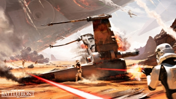 Battle of Jakku Star Wars Battlefront