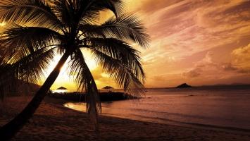 Beach Colors in Twilight