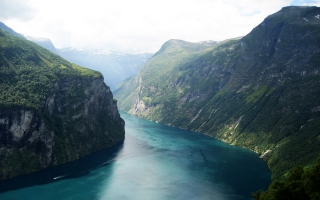 Beautiful Fjord Norway