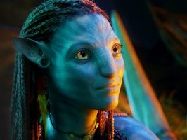 Beautiful Neytiri in Avatar