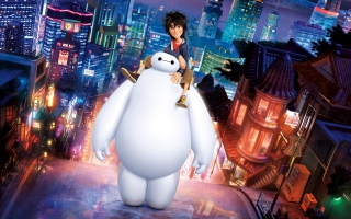 Big Hero 6 Hiro Baymax
