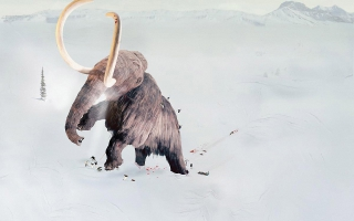 Big Ice Age Mammoth