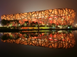 Bird s Nest Wallpaper China World
