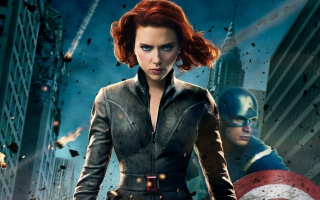Black Widow in The Avengers
