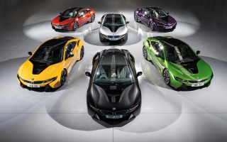 BMW i8  Individual Paint Program