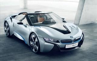 BMW i8 Spyder Concept Car
