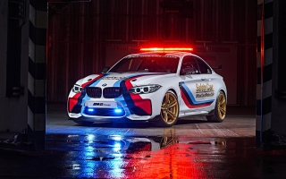 BMW M2 Motogp Safety 2016
