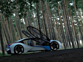 BMW Vision EfficientDynamics Wallpaper Cars