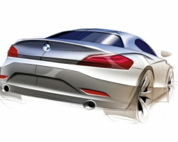 BMW Z4 Roadster Sketch Wallpaper BMW Cars