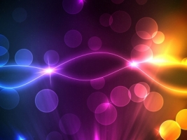Bokeh Starflight Wallpaper Abstract Other
