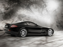 Brabus SLR McLaren Wallpaper Mercedes Cars