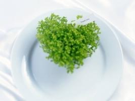 Brokoli Heart Wallpaper Abstract Other