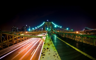 Brooklyn Bridge Nights