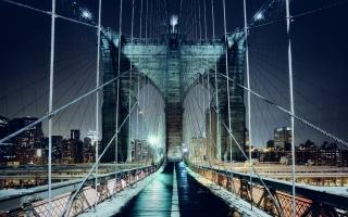Brooklyn Bridge Walkway