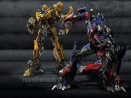 Bumblebee Optimus Wallpaper Transformers Movies