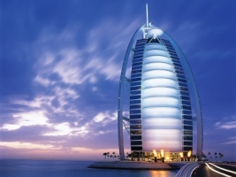 Burj Al Arab hotel Wallpaper United Arab Emirates World
