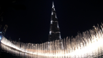 Burj Khalifa The Dubai Fountain