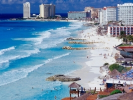 Cancun Shoreline Wallpaper Mexico World