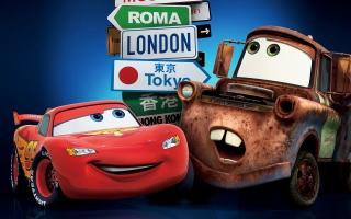 Cars 2 London Tokyo