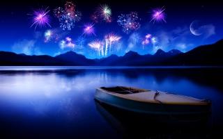 Celebrating New Year HD