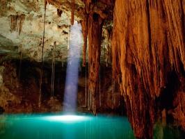 Cenote Dzitnup Mexico