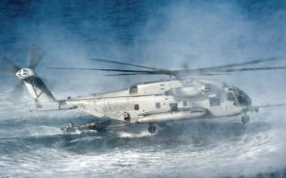 CH 53E Super Stallion Helicopter