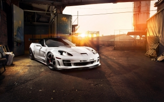 Chevrolet Corvette C6 ZR1 Tripple X