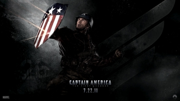 Chris Evans in Captain America 2011