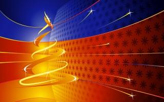 Christmas Abstract HD
