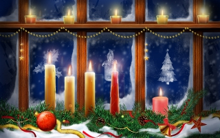 Christmas Lighting Candles