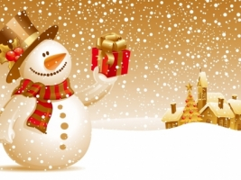 Christmas Snowman Wallpaper Christmas Holidays