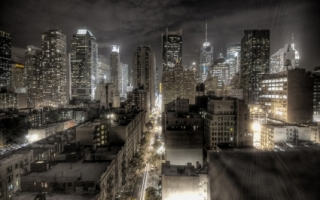 City at nigh Wallpaper City World