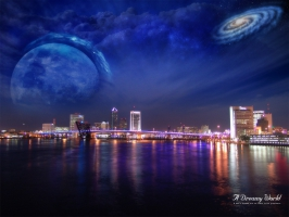 City Nights Dreamy World