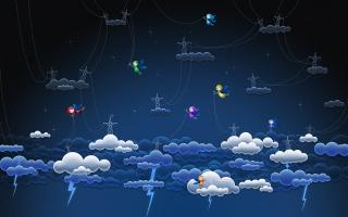 Cloud lightnings